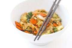 Fritada asiática do Stir Foto de Stock Royalty Free