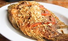 Fritada de peixes. Fotografia de Stock