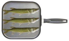 Fritada de pescado Fotos de archivo