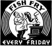 Fritada de pescado Foto de archivo libre de regalías