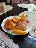 Fritada del plátano del pori de Pazham Imagen de archivo