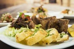 Free Fritada Fried Pork Ecuadorian Plate Stock Photos - 46413153