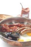 A fritada grande do pequeno almoço acima Foto de Stock Royalty Free