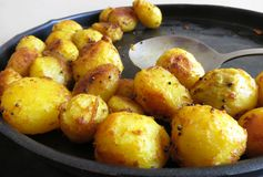 Fritada indiana sul da batata Fotos de Stock