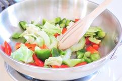 Fritada vegetal do Stir Fotografia de Stock Royalty Free