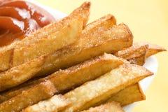 Fritadas con la salsa de tomate Imagen de archivo
