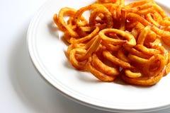 Fritadas Curly Fotografia de Stock