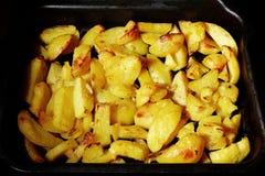 Fritadas curruscantes deliciosas del hogar Foto de archivo