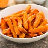 Fritadas da batata doce Imagem de Stock