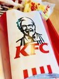 Fritadas de KFC imagem de stock royalty free