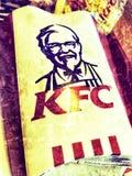 Fritadas de KFC fotos de stock royalty free