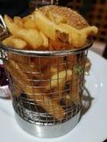 Fritadas de la patata imagenes de archivo