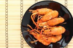 Fritadas do camarão Fotos de Stock