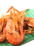 Fritadas do camarão Foto de Stock