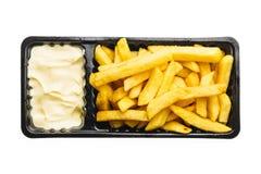 Fritadas do francês com maionese Foto de Stock Royalty Free