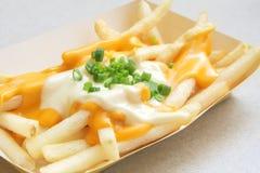 Fritadas do francês com queijo derretido Foto de Stock Royalty Free
