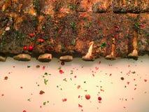 Fritadas dos rasgos da carne de porco Fotografia de Stock Royalty Free