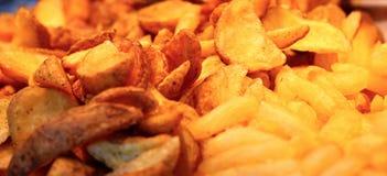 Fritadas frescas de la patata dulce fotografía de archivo libre de regalías