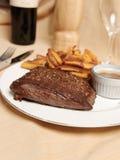 Frite 5 della bistecca Immagini Stock