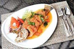 Frite peixes fotos de stock royalty free