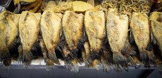 Frite peixes Imagens de Stock