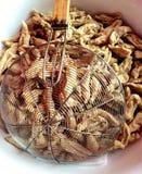 Friterad fiskboll Royaltyfri Fotografi