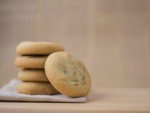 Frites de chocolat et biscuits de raisin sec mous et caoutchouteux image libre de droits