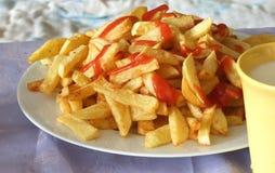 frites franch Стоковые Фотографии RF