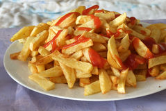 frites franch Стоковые Фото