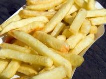 frites pommes 图库摄影