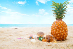 Fritid i sommar- och för sommarsemester begrepp Royaltyfri Fotografi