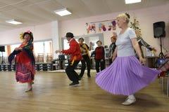 fritids- pensionärer för aktiviteter Royaltyfria Bilder