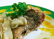 Frito de Pescado Imagens de Stock