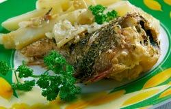 Frito de Pescado Foto de Stock