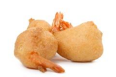 Frito do camarão Imagens de Stock