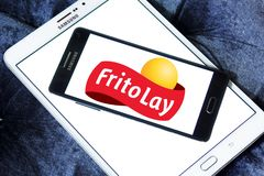 Frito-Lay food company logo Stock Photos