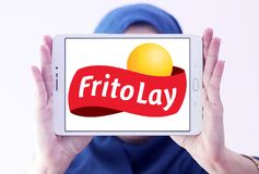 Frito-Lay food company logo Royalty Free Stock Image