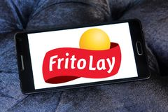 Frito-Lay food company logo Stock Photo