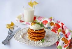 Fritos da abóbora Fotos de Stock Royalty Free