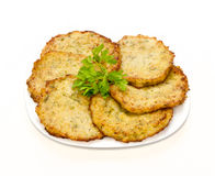 Fritos das determinadas espécies de abóbora vegetais Imagem de Stock