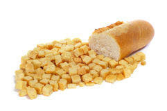 Fritos de pão Fotografia de Stock