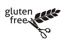 fritt glutensymbol Fotografering för Bildbyråer