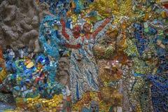 Fritt tillgängligt för undersökning av utläggningen av mosaiken ar Royaltyfri Fotografi