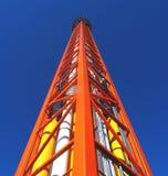 fritt torn för fall royaltyfri bild