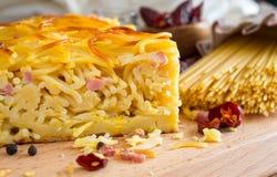 Frittata спагетти Стоковая Фотография RF