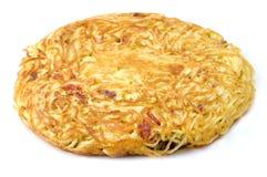 Frittata di spaghetti Royalty Free Stock Images