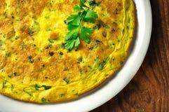 Frittata - italian omelette  Stock Images