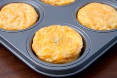frittata muffins Obraz Royalty Free