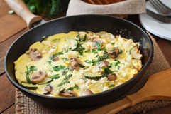 Frittata Royalty Free Stock Photography