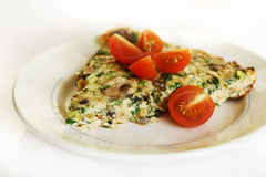 Frittata omelet Stock Photography